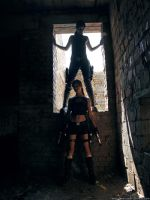 Lara and Lara's Shadow by TanyaCroft