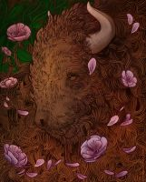 Buffalo Bloom by scrii