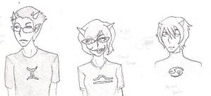 Some Homestuck Trolls by AkatsukiFan1