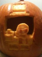 Doctor Fetus Pumpkin by PechaScarfRider