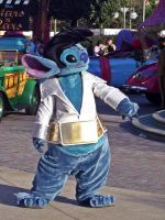 Stitch as Elvis, Disneyland by Gratian-Grime
