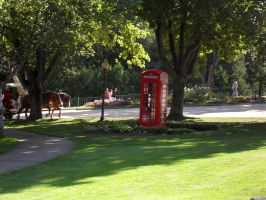 The Lone Phonebox by ChibiBeckyG