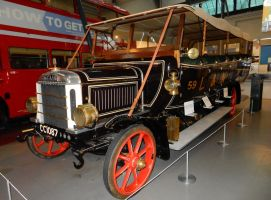 LNWR 1914 Leyland Torpedo Bus No. 59 by rlkitterman