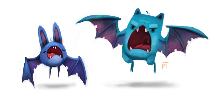 DAY 453. Kanto 041 - 042 by Cryptid-Creations