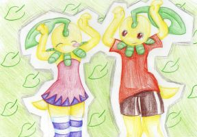 Bayleef Dansen by anime-ninja-girl