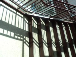 Stairwell Shadows by calictii