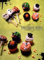 Halloween Treats by whitefrosty