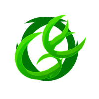 Green Energy gaming logo by Ramche