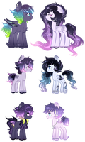 [Space Pony Adopts] [CLOSED] by OniPonii