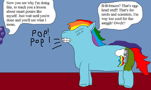 Rainbow Dash And The Geeky Unicorn Pt.5 by thetrans4master