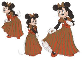 Minnie's New Dress by Lily-the-Animator