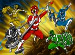 Power Rangers Zoa by KaijuDuke