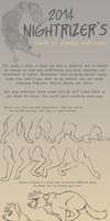 Guide to Drawing Wolf Poses by Nightrizer