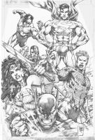 Justice League by MARCIOABREU7