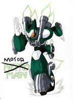 Dwn No.95: Motor Man by GarthTheDestroyer