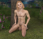 Young Tarzan at Rest 3 by joekr9