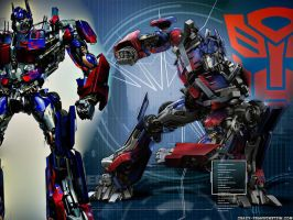 Optimus Prime Request by Naids