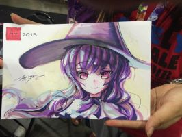 Ax 2015 le plume marker drawing by Zerion