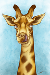 Giraffes are cool by Eenuh