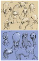 more Creature Sketches 2 by Axel13-Gallery