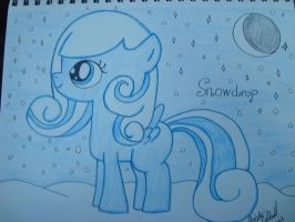 Snowdrop by spidyphan2