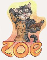 Con Badge: Zoe by SpiritCreations