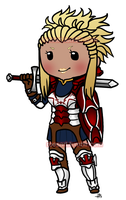 Chibi Flavia by roseannepage