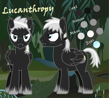 Lucan (Lucanthropy) -REFERENCE- by partiallyBatty