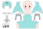 Racing Miku 2012 papercraft by ChatarinaTSP