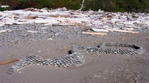 Stacked Sea Stones, View 2 by sculptin