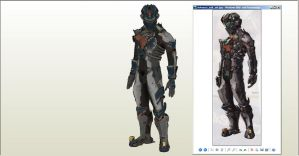 Dead Space 2 Advanced Suit WIP by Destro2k