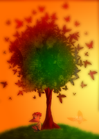 The Butterfly Tree by Marie-Mike
