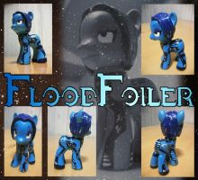 MLP:FiM - Custom Toy - Flood Foiler by zillford