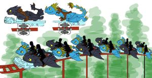 How to Train Your Dragon Ride by Skylanth