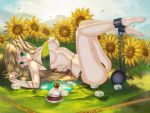 Catch an elf at the Lake of Sunflower by WaterRing
