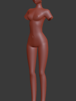 So I started a different model by manashiku