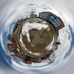 Tiny Planet - Maywood Street by aeroartist