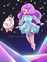 Bee and Puppycat by sapphireluna