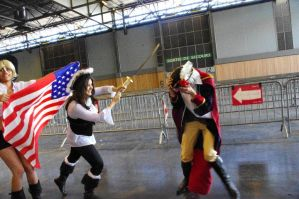 Prussia vs Hungary 2 Japan Expo 2011 by KamiChan50