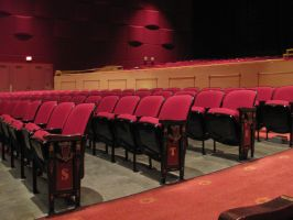 Theatre Seats 1 by Nightmare247Stock