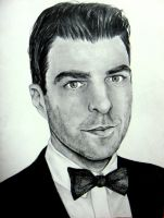 Zachary Quinto by artistkitty88