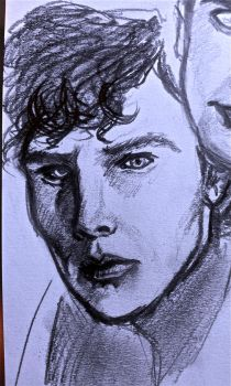benedict cumberbatch sherlock by willwoosharon