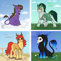 ~All my ponies~ by draykathedragon