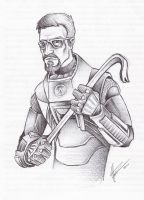 Dr. Gordon Freeman by JeffyP