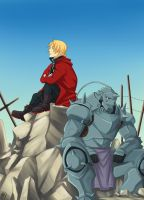 FMA: Heart of Steel by Mcgooen