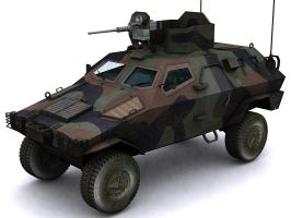Otokar Cobra Armored Car by GARYOSAVAN
