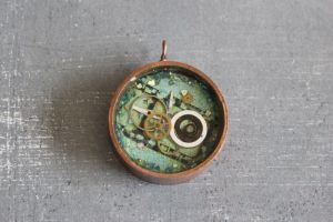 Deep round copper bezels by sillysarasue