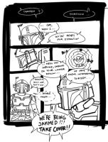 Mando sketch comic by commander-13