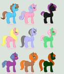 Even more free adopts! by Jolteonlove33