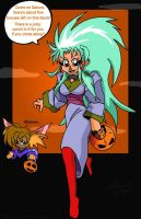 Halloween 2005: A Carrot... by MechaNeko